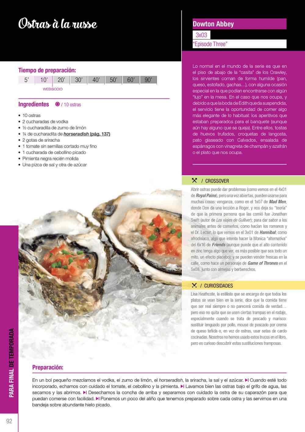 Libro De Cocina   Del Sofa A La Cocina Recetas De Series De Television